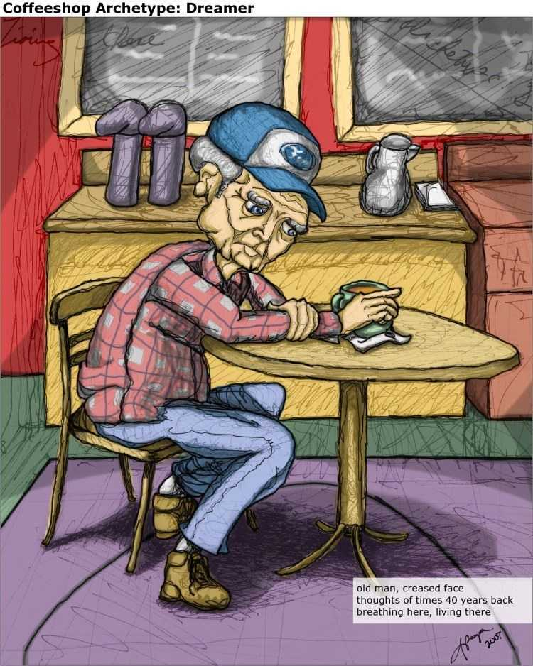 Coffeeshop Archetype: Dreamer