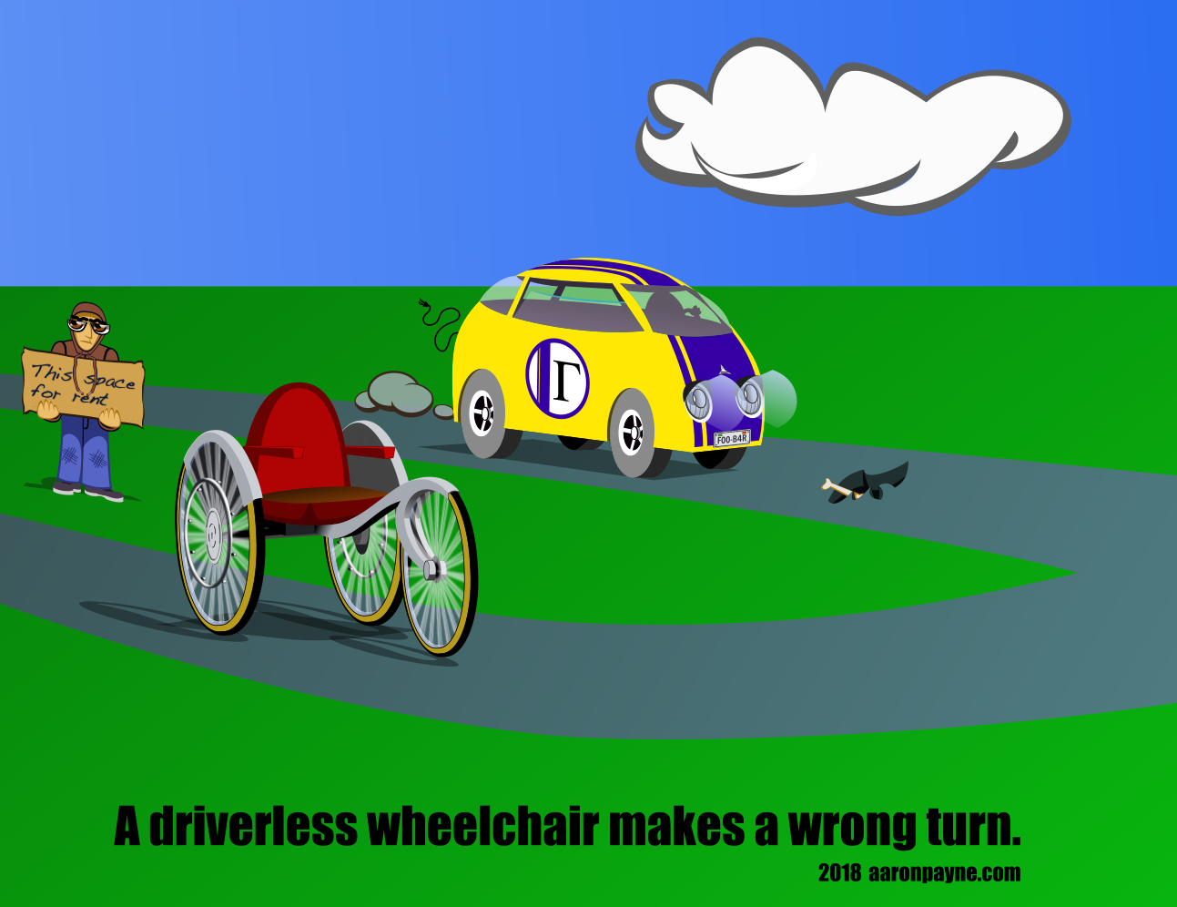 Driverless Wheelchair